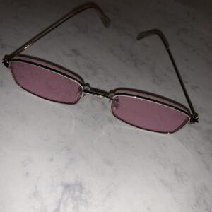 tinted pink sunnies